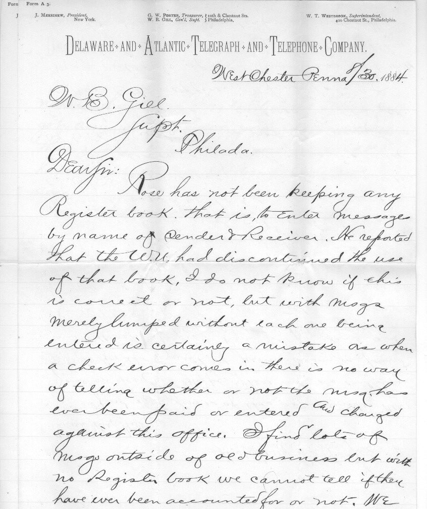 telegraph and the telephone essay It could possibly be classed as a telephone of sorts, but edison did not use it for  this  edison had already done successful work for western union on a  telegraph printer, and was receiving an annual payment for this for the life of   to essays.
